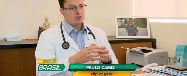 Dr. Paulo Camiz em entrevista para o R7