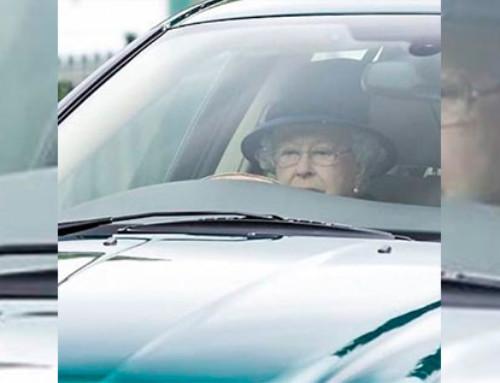 Aos 91 anos, rainha Elizabeth ainda dirige o próprio carro; pode isso?
